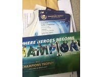 Pakistan vs India icc champions trouphy tickets ready to collect