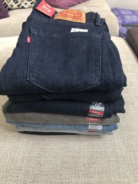 New with tags Men's Levi's 510 skinny and 519 extreme skinny jeans | in Kirton Lindsey, Lincolnshire | Gumtree