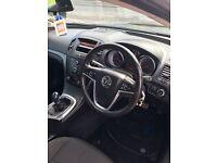 Black Vauxhall Insignia