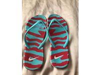 Ladies Nike flip flops 5
