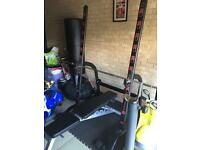 Weights rack + bench+ olympic weights and bars £400 ono