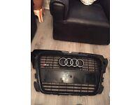 Audi s3 black edition grill
