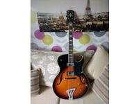 Washburn J3 TS Electric Guitar, Tobacco Sunburst £400