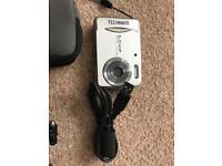 Camera, selfie stick and mini tripod