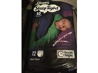 Liberio sleep tight nappies