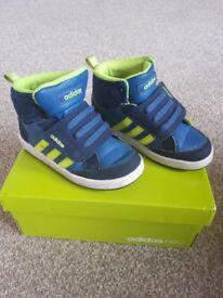 Boys Adidas Trainers size 9K