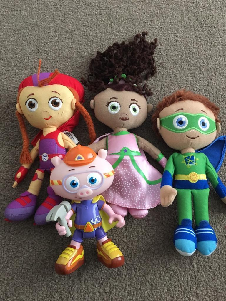 Super why dolls BARGAIN