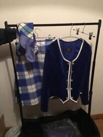 Highland dancing outfits ,Kilt outfit, flora outfit, jig outfit and hornpipe outfit
