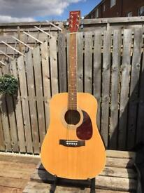 Burwood acoustic guitar