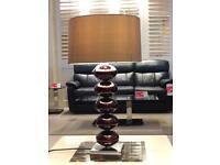 Stylish ceramic table lamp (DFS ex-display) RRP £250