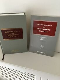Law book on Professional Negligence