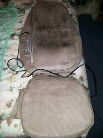 Massager to fit on chair