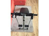 Fitness Adjustable Sit Up Ab Bench