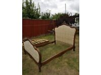 Original french Louis double bed 1890