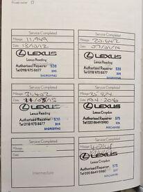 LEXUS CT 200H SE-L CVT LEATHER LOW MILEAGE
