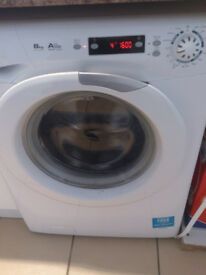 Candy EVO 1682D washing machine 8kg Load ! 15 months old perfect condition only 100£