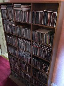 CD shelves