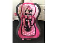 Minnie Mouse Cosmo Car Seat Group 0-1 (birth-18kg)