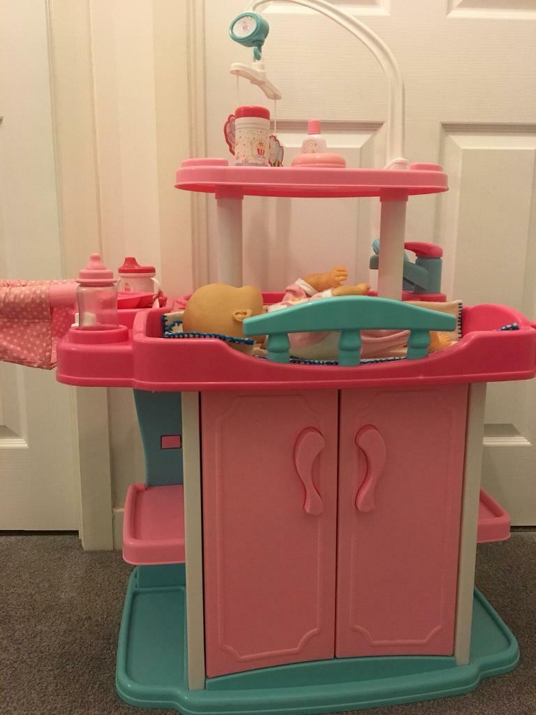Toy baby doll changing unit bath early learning Centre | in Norwich ...