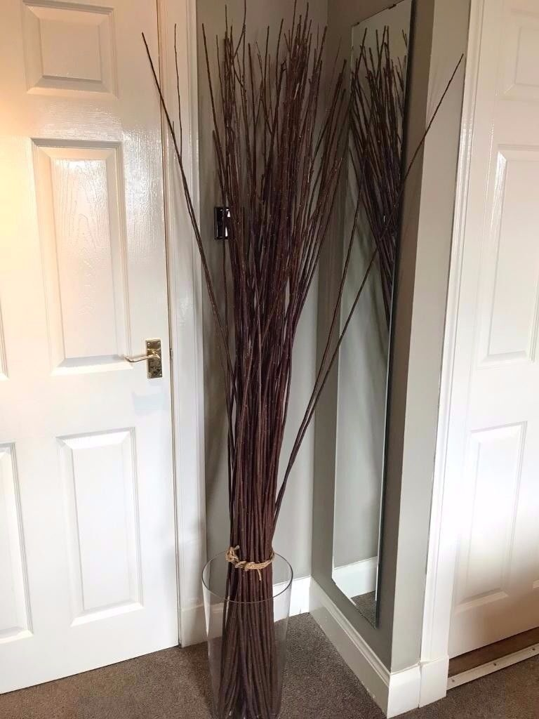 Ikea decorative tied willow branches and large glass vase in ikea decorative tied willow branches and large glass vase in great condition reviewsmspy