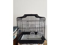 BLACK BIRD CAGE £30