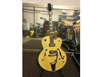 Peavey Rockingham Bigsby, hard case and Roland micro cube amp
