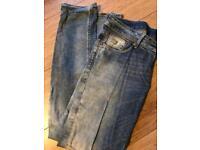 Ladies GStar Jeans Size 12 waist 32x32