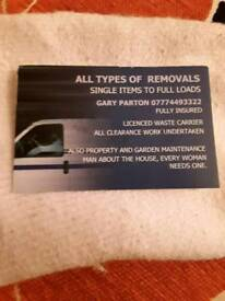 ALL TYPES OF REMOVALS
