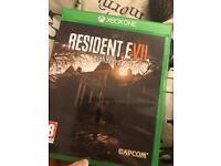 Resident Evil 7 - Pristine Condition - Xbox One