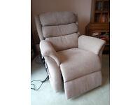 Riser recliner armchair, CosiChair Heddon dual-motor