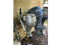 Yamaha f40 outboard boat engine