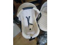 Billie Friars 3-1 pram with changing bag and free raincover immaculate condition only 10 months old