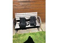 Belstaff saddlebags