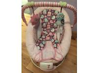 Baby girl bouncer