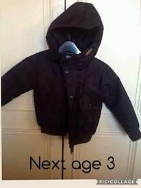 Next age 3 coat