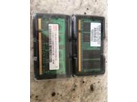 2GB (2x1GB) DDR2 Laptop RAM Memory