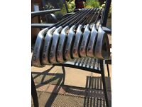 Full set of RH Lynx graphite irons plus extras - good condidtion