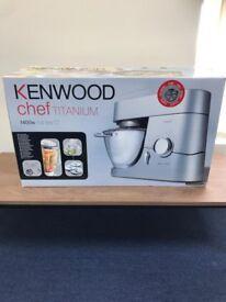 Kenwood Chef Titanium.