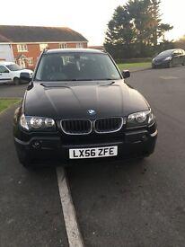BMW X3 2l petrol, parking sensors, 4 new tyres great car
