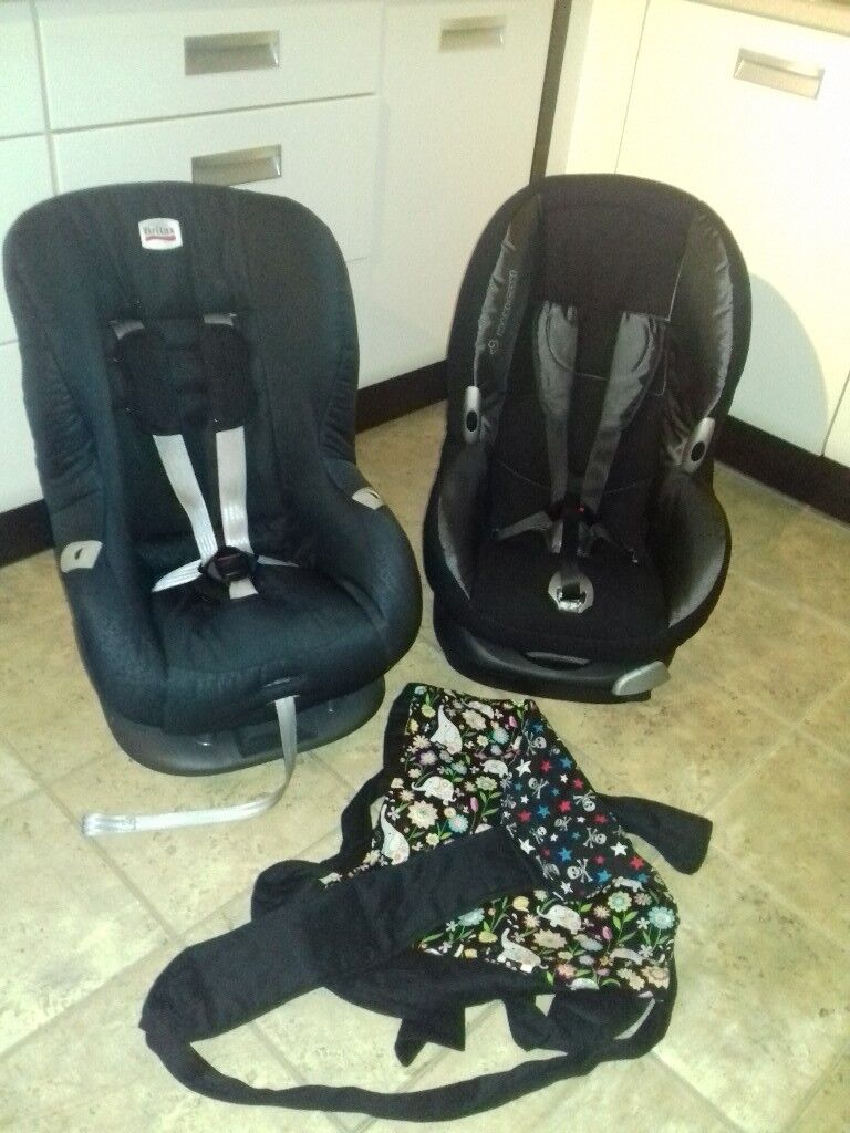 Car seat and sling bundle **Only Britax Eclipse and sling available ...