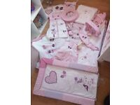 Baby girls bedroom set