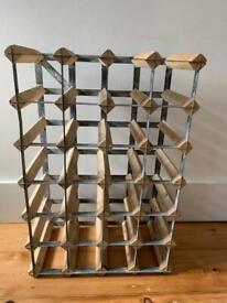 Wine rack (holds 24 bottles)