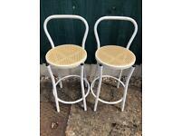 Two kitchen stools