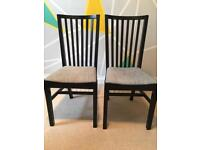 Two Ikea chairs only £10 for the pair
