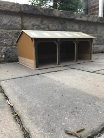 1:32 3 bay shed