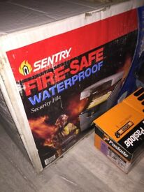 Sentry Fireproof/Waterproof safe, never used still in box