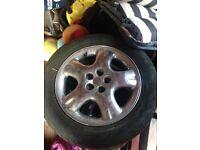 Chrome alloys with tyres
