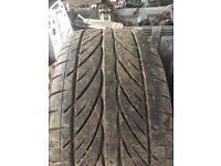 255/40/17 part worn tyres 2x hankook Ventus v12