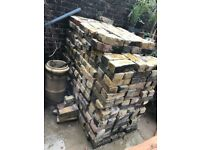 Yellow Stock Reclaimed Bricks - approx 600 available - Good Quality - Cleaned