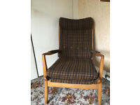 Fantastic retro vintage 'Cintique' armchair. Need gone asap. Project, ONO